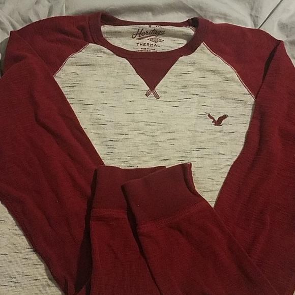 Mens American Eagle thermal shirt